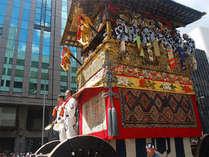 7月17日祇園祭・山鉾巡行(前祭巡行)7月24日後祭山鉾巡行