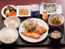 【和朝食】内容盛りだくさんの和定食!しっかり朝食派の方に最適♪