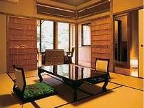 露天風呂付客室(甚四郎の間)