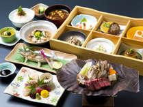 お食事処 四季彩(イメージ)四季折々の旬な食材を厳選して作る会席料理。