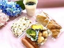 朝食無料サービスコロナ対策の為お弁当でのご提供となっております。