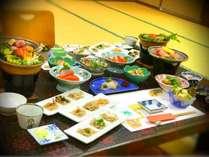 【発酵懐石料理】信州松川渓谷鍋・信州プレミアム牛・おそば食べ比べセットなどございます。(写真は一例)