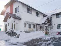 *外観/スキー乾燥室あり、近隣のスキー場まで車で約5分です!