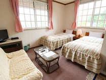 *ツイン/角部屋は約11畳と少し広めです。ご夫婦・カップルにおすすめです。
