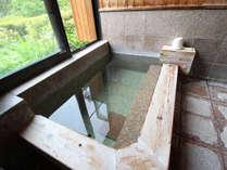 *貸切風呂/檜風呂で楽しむ天然温泉100%掛け流しの『草津の湯』