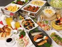 毎日楽しみ♪日替わりバイキング朝食イメージ