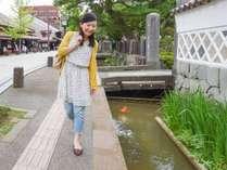 *【殿町通り】鯉と暮らす町津和野