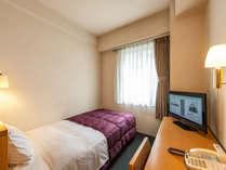 ≪シングルルーム≫全室個別Wi-Fi完備。ビジネスでのご利用に最適です