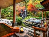 四季折々の季節を楽しむ庭園露天風呂 秋