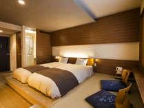 【和モダン】畳にローベッドを配したお部屋でのんびり寛げます