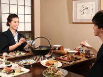 【お食事処 北番屋】周囲に気兼ねなくゆっくりとお食事をお楽しみください(イメージ)