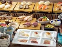 【花吹雪】海鮮・肉・山菜など趣向を凝らした「山のバラエティ寿司」