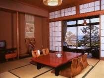 浜名湖を望むお部屋(一例)