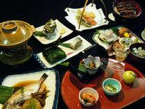 *夕食一例/季節の旬の素材を使用した会席料理をお楽しみくい頂けます。