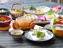 【夕食】森夢スペシャルプラン(※料理は一例です)