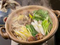 【奥津荘1番人気】 牛肉を使った奥津荘でしか味わえない郷土料理