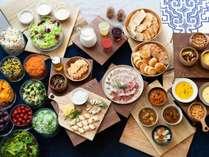 道産のチーズやハム、道産小麦を使ったパンも絶品