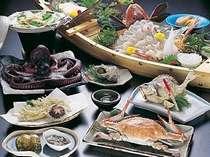 【お料理・通年】篠島の旬が詰まった「漁火の唄~いさりびのうた~」お料理例(盛4名)