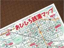 帯広銭湯マップ