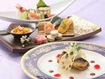日本料理 丹頂 『会席』 メニューイメージ(季節によりかわります)