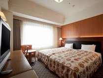 ベッドを2台並べたハリウッドツインはお子様連れにも人気