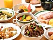 十勝、北海道の味覚にこだわった和洋バイキング朝食