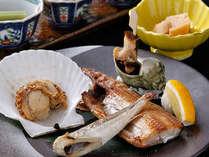 北海道の幸を焼物で食す「北の焼き物御膳」