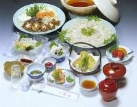 新鮮☆淡路産ハモをお腹いっぱい満喫してください!活ハモコース