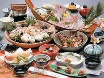 鯛の活魚料理を多彩にアレンジ   まるごと鯛コース