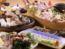新鮮な魚介類を堪能☆おどりコース