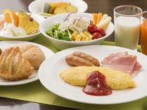 朝食メニューリニューアル!より北海道を感じられるメニューをご用意♪6:15~10:15