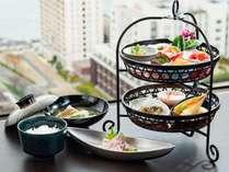 タワーフロアご宿泊者限定 総料理長監修の特別朝食セット 和朝食 イメージ