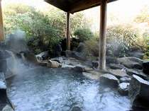 【温泉館ゆらり】日本情緒ゆたかな露天風呂,熊本県,阿蘇の司ビラパークホテル&スパリゾート