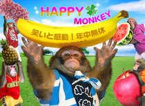 【選べる夕食&猿まわし劇場】THE日本の伝統芸能!ユーモラスなお猿さんが待ってます!