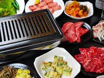 【本格焼肉コース】創業60年!博多の人気店の味を阿蘇で!秘伝のタレで味わう「焼肉」プラン