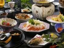 【ホテルオリジナル!火口鍋を味わえる】りんどう豚の伝統味噌鍋会席