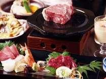 【忘新年会】「松コース」どどーんと!豪快かたまり肉熔岩焼会席プラン