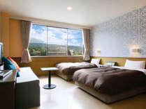 【客室】ボアール館からは阿蘇の山々を望めます/例