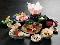 信玄鍋や鰤照焼などとってもお得な美食の会席プラン 1月~2月