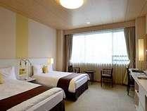 ◇1日7室限定◇  ツインルームに広々ゆったりと! 【お1人さま歓迎プラン 1泊朝食付 7月】