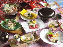 昇仙プランに月替わりの食材を吟味した春満載を感じていただける会席料理 【月替り特選料理 卯月(4月)】