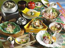 昇仙プランに月替りの旬の食材を吟味した春満載を感じていただける会席料理【月替り特選料理 皐月(5月)】