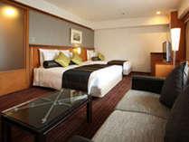 コーナークラブルーム/36平米お好みの枕やアロマ等が選べる快眠プログラムは宿泊者無料♪