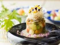 会席料理 白南風。お一人様¥7,000(税別)。9/30(月)までの期間限定。