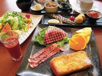 ≪朝食一例≫和洋セットメニューがリニューアル!