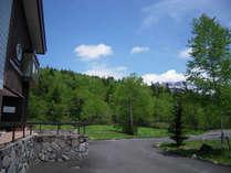 旭岳の爽やかな風景が広がります