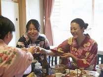 合コン?いいえ、女子会です。 居酒屋?いいえ、・・・温泉です!,大阪府,伏尾温泉 不死王閣