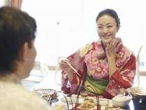 たまには夫婦水入らずでのんびりお食事はいかがでしょうか。,大阪府,伏尾温泉 不死王閣
