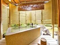 *露天付き客室一例天然温泉をお好きな時間にお楽しみいただけます。