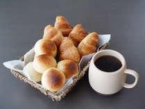 朝食サービス(パン数種類)